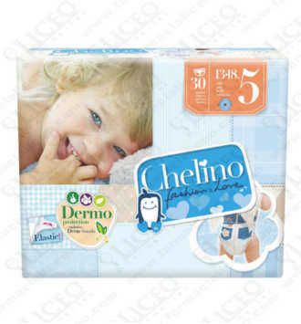PAÑAL INFANTIL CHELINO FASHION and LOVE T- 5 (13 -
