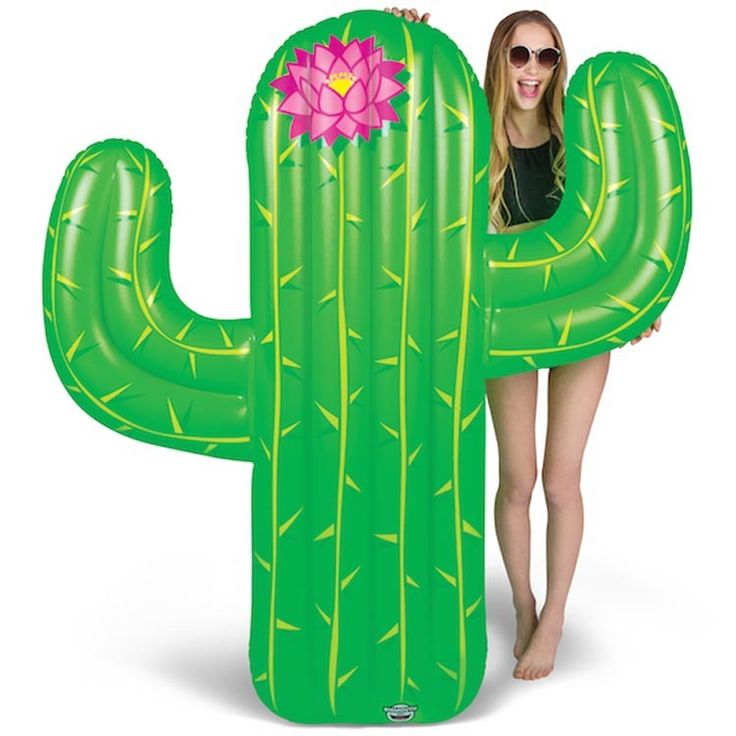 Giant Cactus Pool Float in One-Of-A-Kind Toys