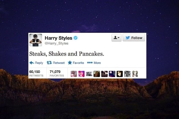 The 24 Deepest Harry Styles Tweets Of 2013.. Love how #16 has some of the most favorites.