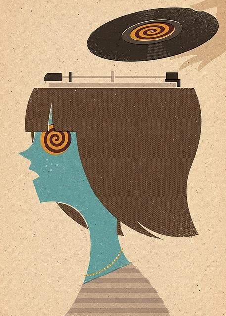 Mind Control by Zara Picken Illustration, via Flickr