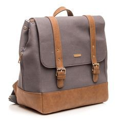 Grey Marindale Backpack Diaper Bag