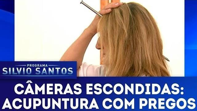Cameras Escondidas Programa Silvio Santos Acabou De Enviar Um