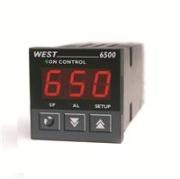 West 6500 1/16 DIN Simplified Temperature Controller    -  Large, 3-Digit Display  -  Special Algorithm for Electric Heater Application  -  Combines West's Pre-Tune and Self-Tune  -  Constant Display of Both Process and Alarm Status  -  Setpoint Lock Security