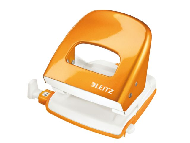 Perforator Leitz #oranje #kantoorartikelen