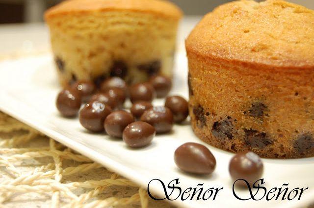Muffins de Conguitos | Receta de Sergio