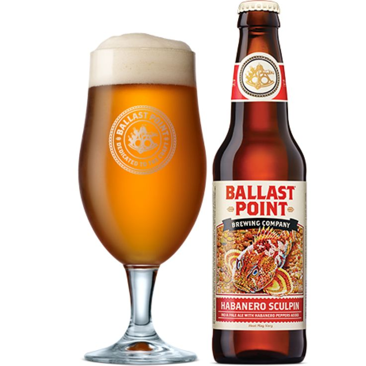Ballast Point Habanero Sculpin - The Drunk Guys Book Club #Podcast #Beer