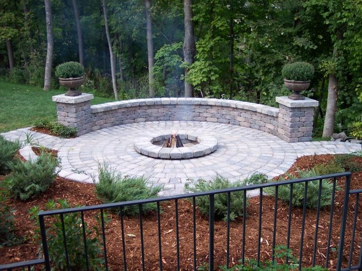 Gas Fire Pit Ideas Seating Areas