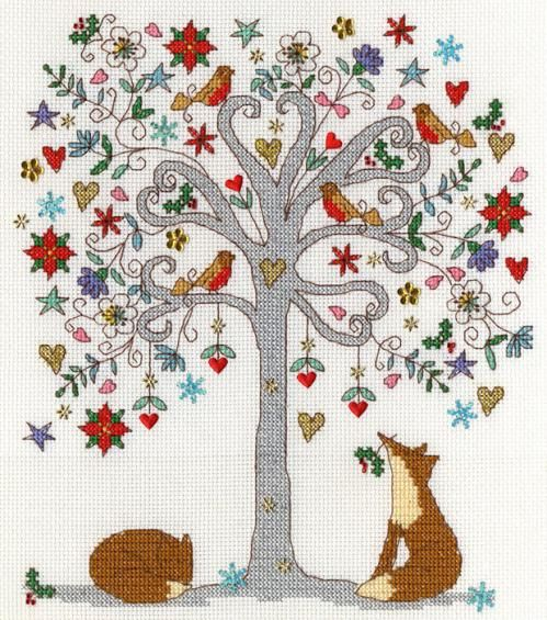 A festive take on the Love Tree by Kim Anderson