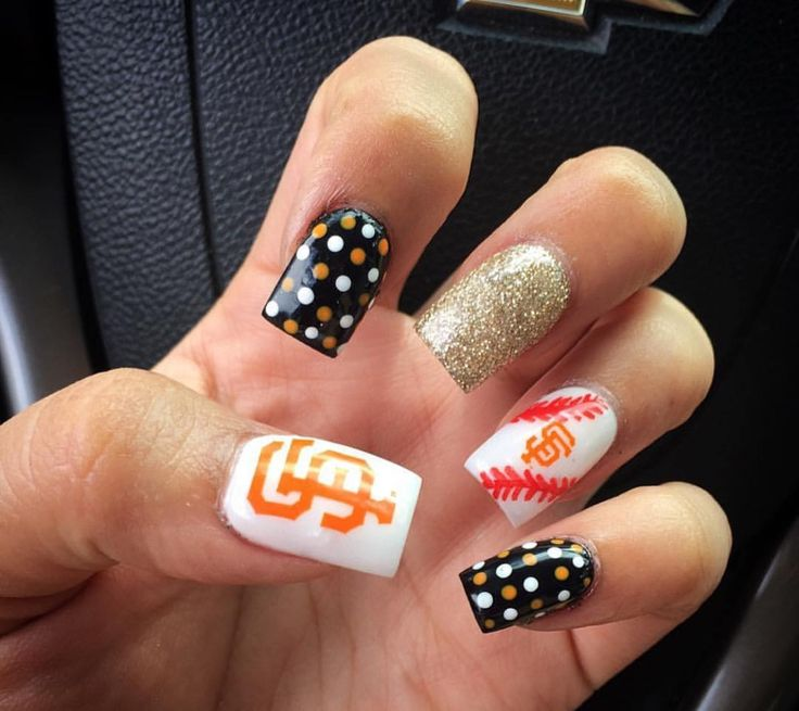 21 best Sports Nail Art images on Pinterest | Sf giants nails, Sport ...