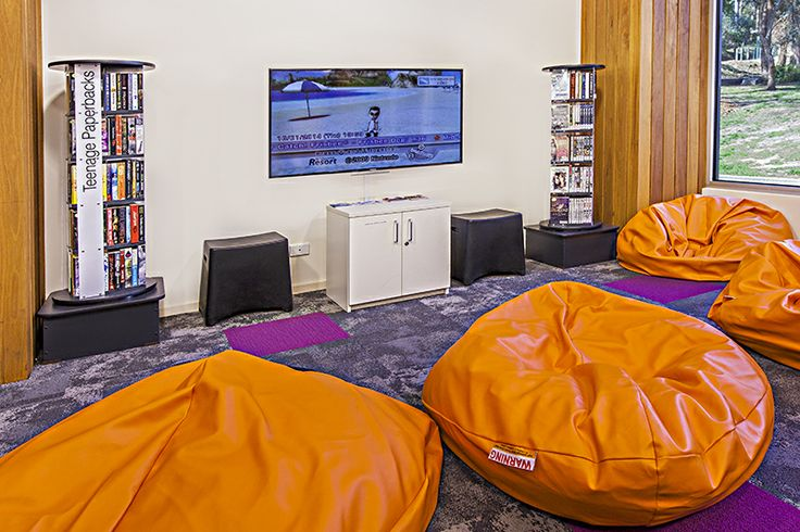 Warrandyte Library VIC. Furniture supplied by Raeco Library Solutions www.raeco.com.au
