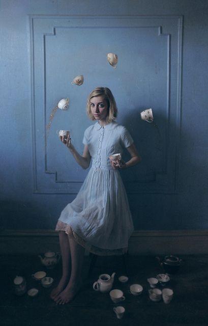 """The Unbalancing Act"" | Model: Molly Strohl, Photographer: Lissy Laricchia, 2012"