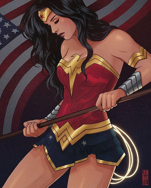 Wonder Woman by Jen Bartel @heyjenbartel  #wonderwoman