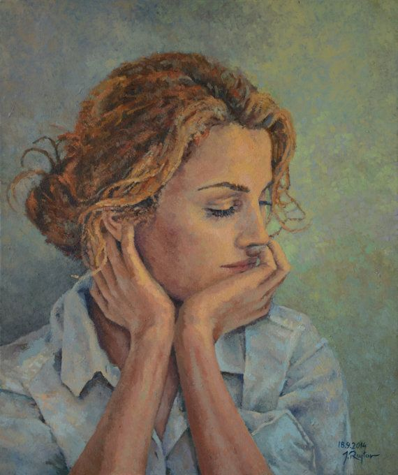 Keri Russel Impressionist Portrait by JRajtar on Etsy