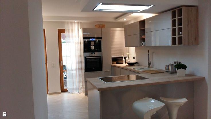 kuchnia otwarta na salon - zdjęcie od Ela Sokół - Kuchnia - Styl Nowoczesny - Ela Sokół