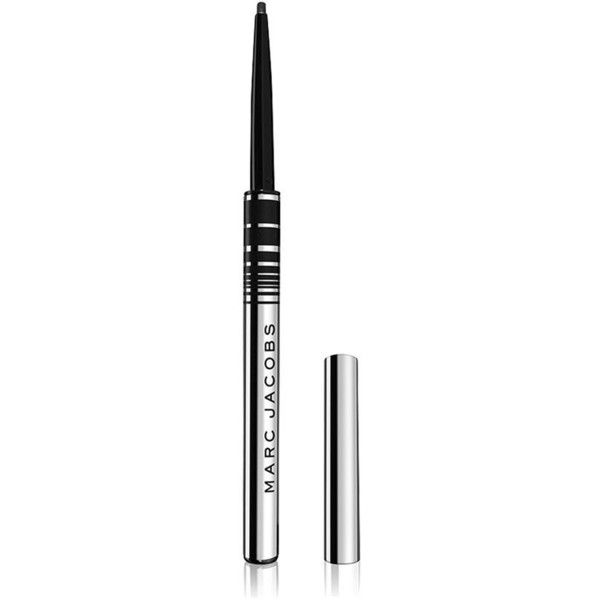 Marc Jacobs Fineliner Ultra-Skinny Gel Eye Crayon (690 UAH) ❤ liked on Polyvore featuring beauty products, makeup, eye makeup, eyeliner, gel eyeliner, marc jacobs, marc jacobs eyeliner and gel eye liner