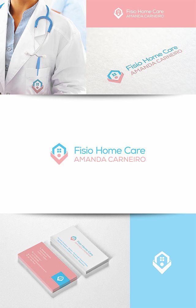 Criação de logotipo e cartão de visitas para Fisio Home Care.  Amanda Carneiro – Fisioterapeuta  – Traumato Ortopédica – Geriatria – Reeducação Postural (Pilates) – Neurologia Adulto e Pediátrica – Preventiva – Respiratória