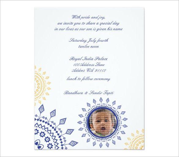Mundan Ceremony Invitation Quotes Card Design And Wordings Card Design Invitation Card Sample Invitation Cards