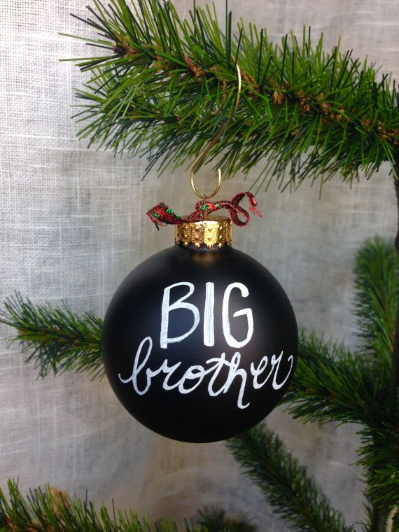 Big Brother Ornament by SHEdesigned on Etsy