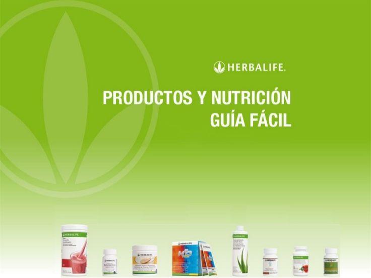 Guia sencilla Productos Herbalife España