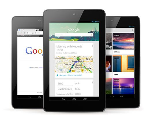 Nexus 7 Launched in India