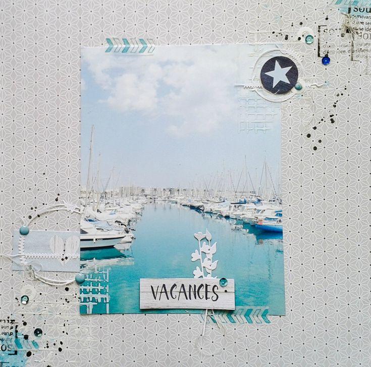 """""""Vacances"""" par Steph63 - swirlcards - le blog"""