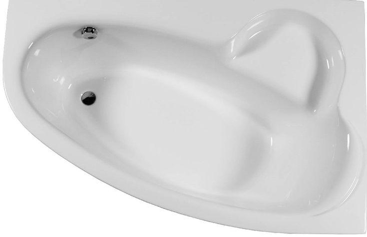 Raumsparbadewanne 160 x 105 x 46 cm Bodenlänge 110 cm Inhalt 215 Liter Raumsparbadewanne 160 x 105 x 46 cm aus Sanitär Acryl auch mit Wannen-Schürze lieferbar http://www.bad-design-heizung.de/badewanne/raumsparwanne/160-cm/