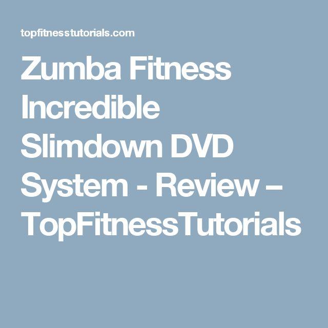 Zumba Fitness Incredible Slimdown DVD System - Review – TopFitnessTutorials
