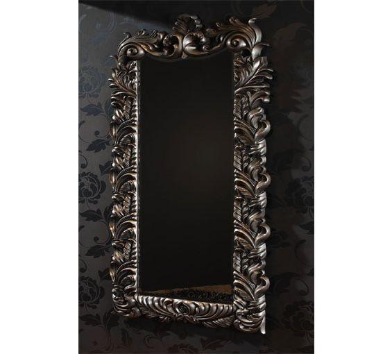 Espejo en color plata de cuerpo entero con medidas 77cmx172cm