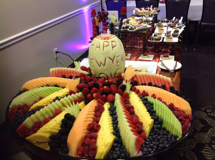 Canadian Honker Events at Apace, Rochester MN #fruitdisplay #fruit #newyears