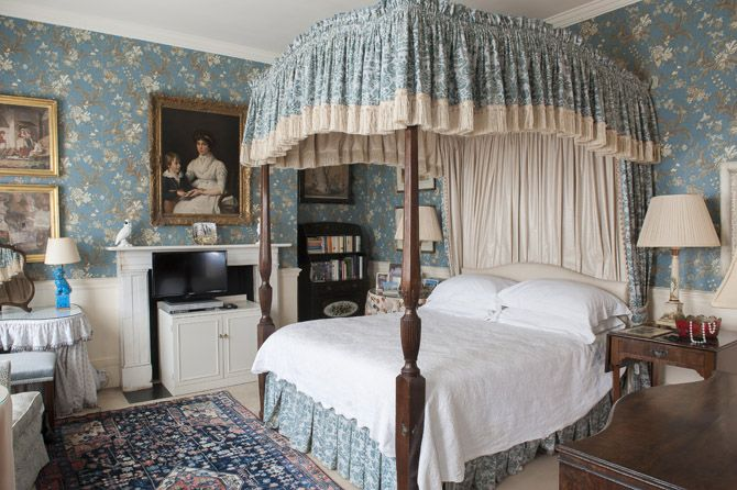 Blue English Bedroom English Country Style Pinterest