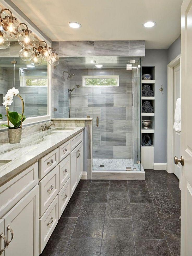 33+ Surprising Modern Master Bathroom Decor Ideas – Live