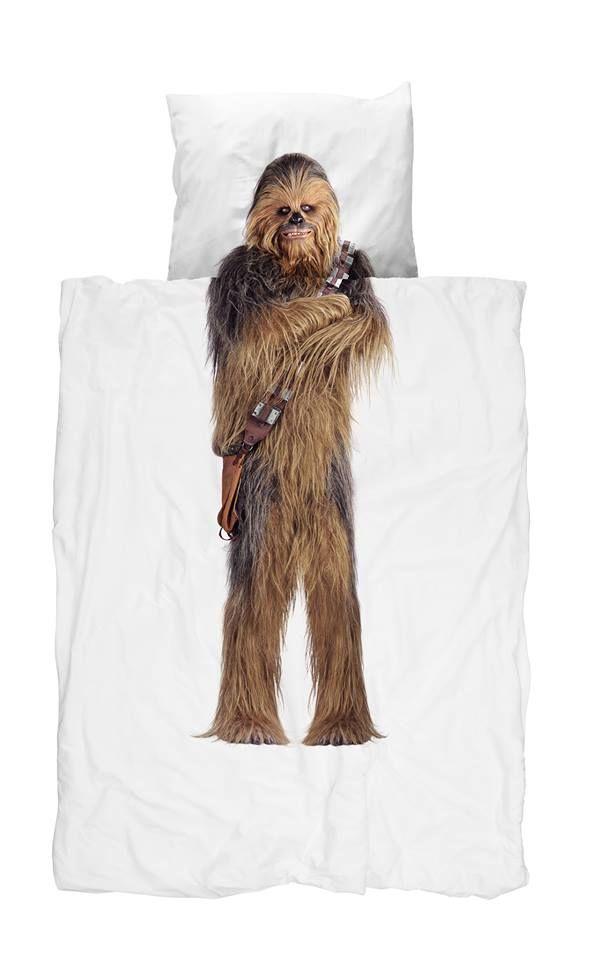 J Kids Snurk Star Wars Bedding - Chewbacca