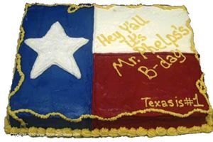 Texas Flag Cake - The Lone Star Three Brothers Bakery