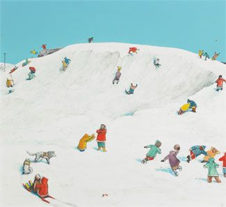 Probably no other painter (outside Van Gogh) influenced me more than William Kurelek. His simple paintings of children playing in snow, people on farms, village life left me with the feeling that a…