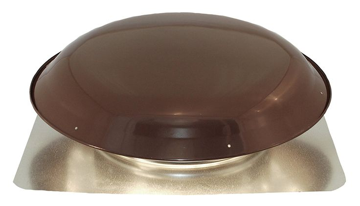 Ventamatic VX25BRN Static Galvanized Steel Dome and Flange Roof Vent, Brown >>> Read more reviews of the product by visiting the link on the image.