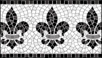 Click to see the actual ML11 - Border No 11 stencil design.