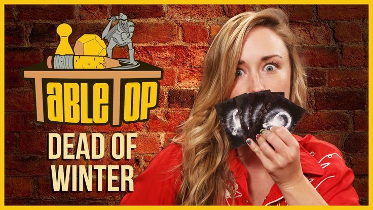 Wil Wheaton and guests Ashley Johnson, Grant Imahara, and Dodger Leigh play Dead of Winter in this episode of TableTop!