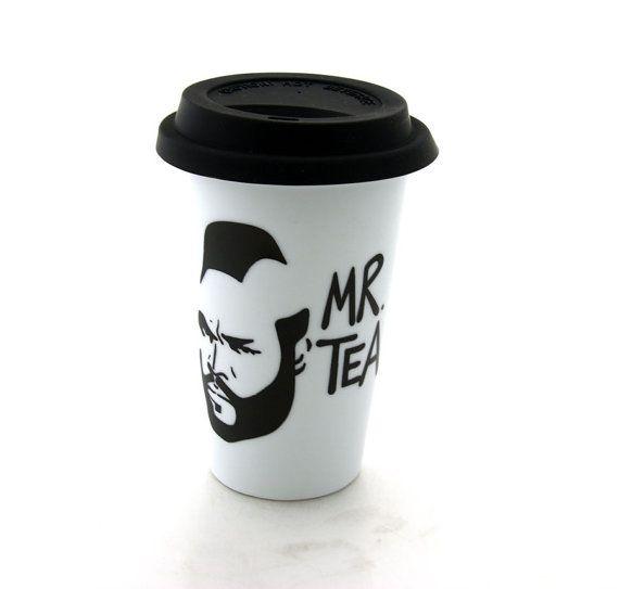 Mr. Tea travel mug