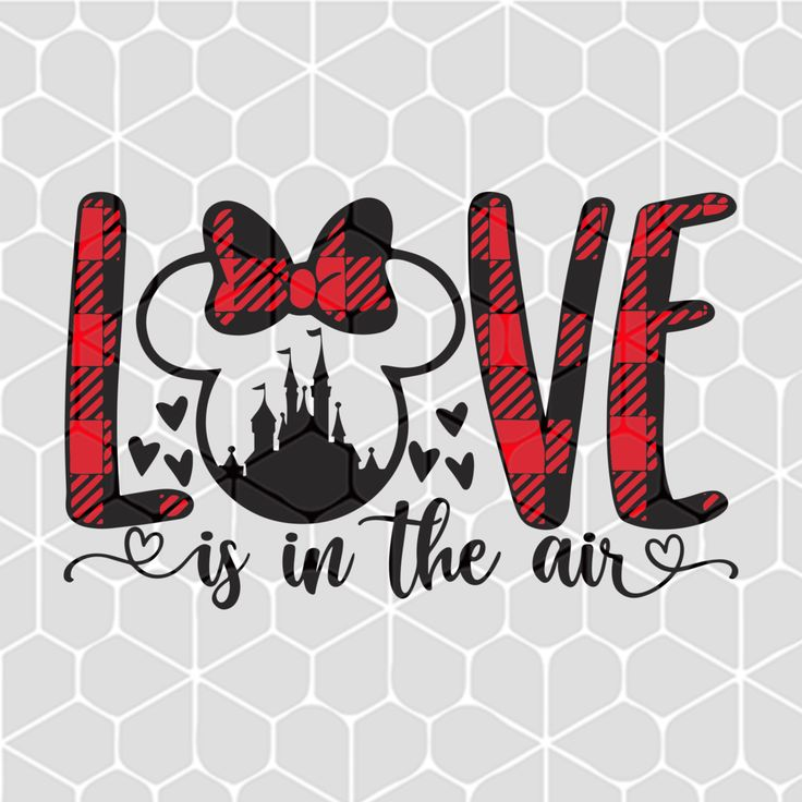 Download Love is in the air , minnie svg, minnie mouse svg, disney ...