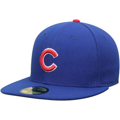 New Era Chicago Cubs Royal Authentic Collection On-Field 59FIFTY Game Performance Fitted Hat