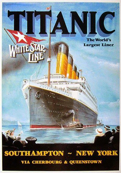 13 best Titanic publicity images on Pinterest | Vintage ...
