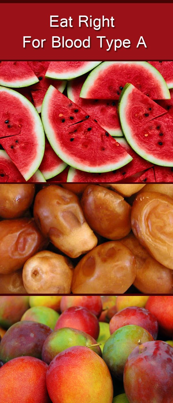 Most kinds of fruits are suitable for blood type A and they must eat fruits three times a day but the best is the low sour such as Pineapple Figs Apricots Cherries Red peaches, Know more about how to eat right if your blood type is A