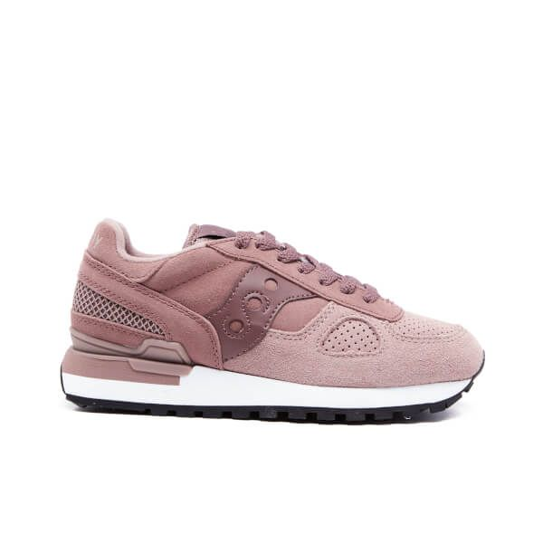 Saucony Women's Shadow Original Suede Trainers - Plum · Lace Up ShoesSuede ShoesShoes  SneakersSaucony ...