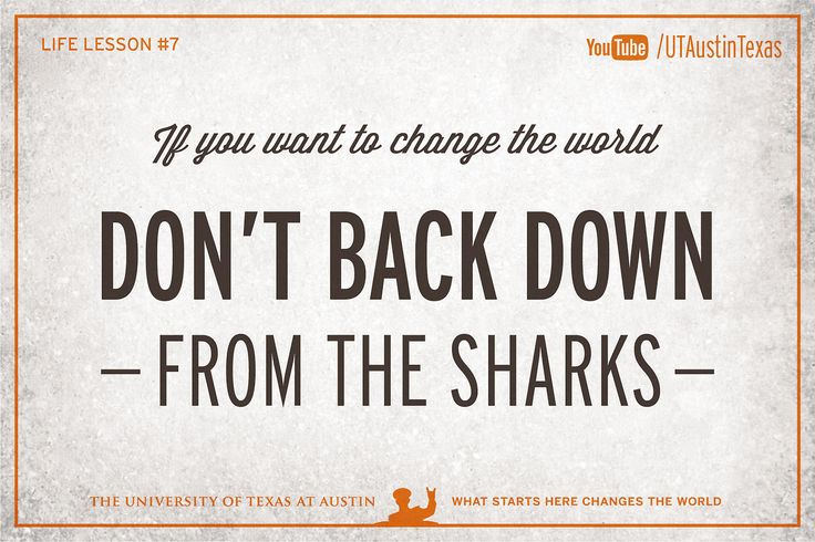 The University of Texas at Austin, 10 Life Lessons from Admiral William McRaven...