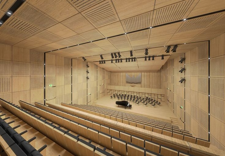 Concert Hall #architecture #competition #project