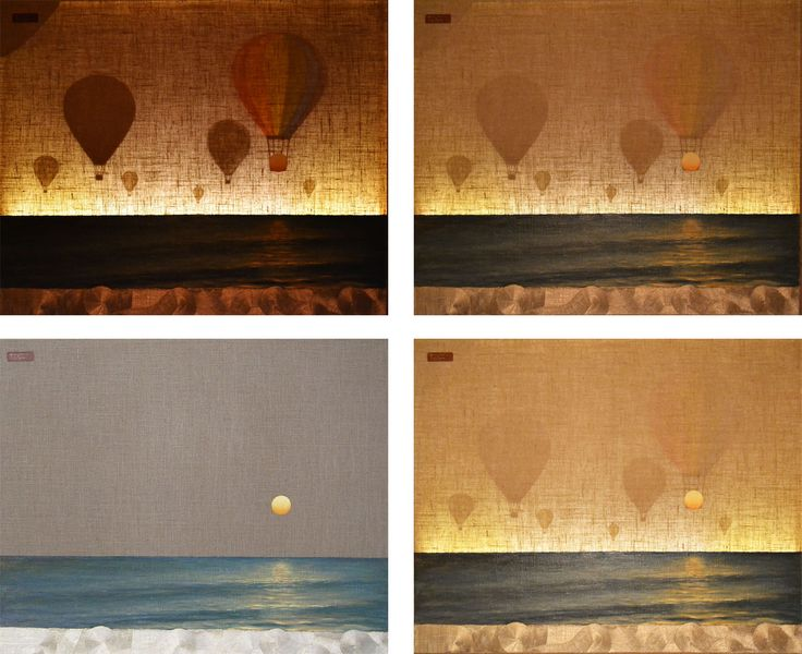 Rainbow balloons * Light series * Barbara Gerodimou * www.gerodimou.com