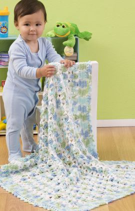 "Free pattern for ""Favorite Cozy Blanket""!"