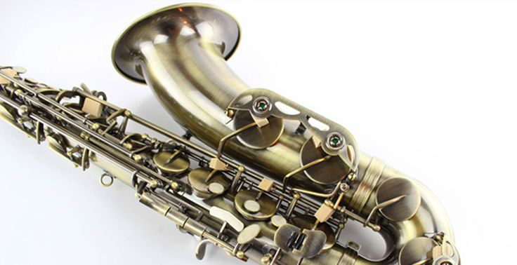 ==> [Free Shipping] Buy Best Tenor sax Saxophone Bb antique brass surface Wind Instrument Sax Western Instruments saxofone Musical Instruments saxophone Online with LOWEST Price | 32804932731