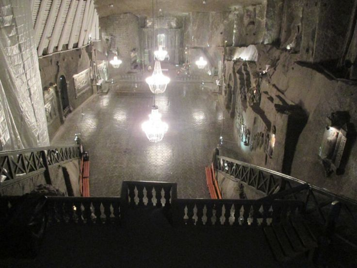 The Wieliczka Salt Mines a day trip from Krakow Poland, and a perfect rainy day activity!