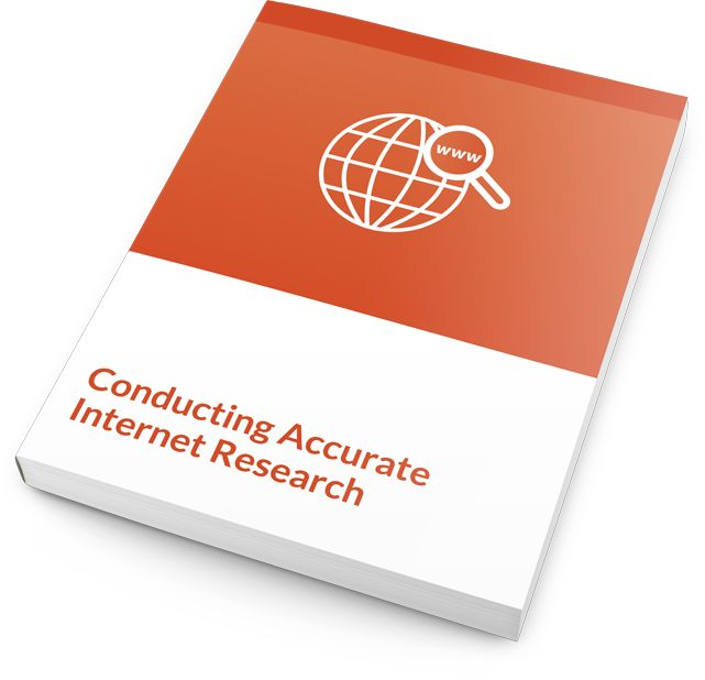 With these Internet research training materials, you will guide students through each step of the research process: crafting a research strategy, performing different types of searches, organizing notes, and citing sources. You'll have everything you need at your fingertips, including an instructor's guide, handouts, PowerPoint slides, course assessments, student manual, and more.  #internetresearch #training #courseware